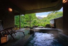 NEW  All rooms include open-air hot spring baths. In a beautiful・・・