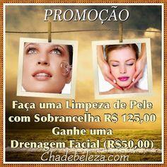 Cha de Beleza & Bem Estar: Limpeza de Pele+Sobrancelha em Promoção Pinheiros