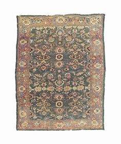 ZIEGLER CARPET  SULTANABAD DISTRICT, WEST PERSIA, CIRCA 1880    13ft.3in. x 10ft. (403cm. x 305cm.)