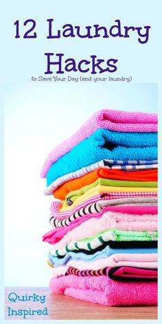 Tired of stains not going away and laundry taking forever? Check out these 12 laundry hacks with all Radiant and save the day (and your laundry)