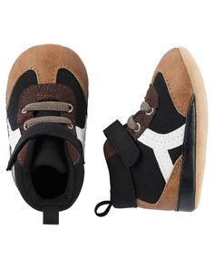 Baby Boy Carter's High Top Boot Crib Shoes | Carters.com