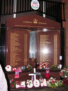 Hillsborough Football Club Disaster - Liverpool Memorial