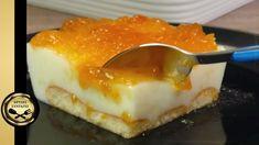 Greek Desserts, Cream Cake, Custard, Caramel, Cheesecake, Sweet Home, Pudding, Cooking Recipes, Sweets