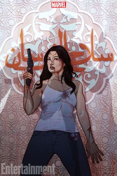 Melinda May by Jenny Frison Comic Movies, Marvel Movies, Comic Books, Hack And Slash, Gotham, Le Shield, Mike Deodato Jr, Agents Of S.h.i.e.l.d, Melinda May