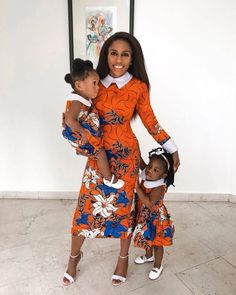 54 Edition of - Shop From These New Aso ebi Lace style & African Print Trend - Emmanuel's Ankara Styles For Kids, African Dresses For Kids, Ankara Gown Styles, African Print Dresses, African Print Fashion, African Fashion Dresses, Ankara Fashion, African Ankara Styles, Ankara Gowns