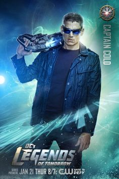 The CW has released nine DC's Legends of Tomorrow character posters, showing off the titular heroes for the upcoming Arrow/The Flash spinoff series. Legends Of Tomorrow Cast, Legends Of Tommorow, Series Dc, Tv Series 2016, The Cw, The Flash, Heroes Dc Comics, Hero Squad, Captain Canary