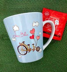 """Caneca Cônica Bike Love, """"My Print Design"""""""