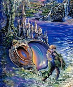 "mermaid ~ ""Whispered Dreams "" par Josephine Wall"