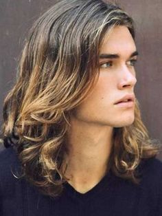 Curly Long Hair for Guys