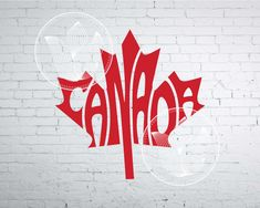 Discover recipes, home ideas, style inspiration and other ideas to try. Word Art, Canada Leaf, Canada 150, Maple Leaf Tattoos, Canadian Tattoo, Alaska, Leaf Stencil, Moving Gifts, Easter Coloring Pages