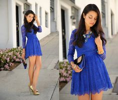 Spring Lace (by Annabelle Fleur) http://lookbook.nu/look/4745685-Spring-Lace