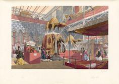 """5. El 1 de mayo de 1851 se inauguraba  la """"Gran Exposición"""" en el Crystal Palace. 13.000 objetos expuestos bajo un techo de cristal. La Gran Exposició 6 millones de visitantes asistieron a este mega-show de mercancías tecnológicas y de diseño de todo el mundo,"""