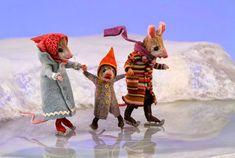 Needle Felted Animals, Felt Animals, Maus Illustration, Needle Felting Tutorials, Crochet Amigurumi, Felt Mouse, Cute Mouse, Wet Felting, Felt Art