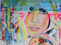 "Saatchi Art Artist Janet Edens; Painting, ""In my place"" #art"