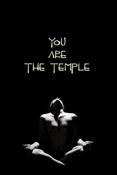you are the temple....