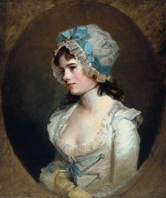 John Hoppner portrait of  Mrs Williams circa 1790 (Tate Gallery)