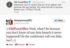 Million Apple Users information stolen by Hackers from FBI Agent's Laptop: FBI says it's not true