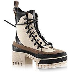 Louis Vuitton Palm Canyon Desert Boots as seen on Kendall Jenner