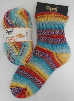 """Woolstack - Opal """"Sweet and Spicy 2"""" Sock Yarn - Sprinkles (8613)"""
