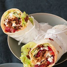 - Türkische Hack-Wraps Turkish hack wraps of kitchen gods Easy Dinner Recipes, Snack Recipes, Easy Meals, Cooking Recipes, Healthy Recipes, Kids Meals, Turkish Recipes, Ethnic Recipes, Best Pancake Recipe