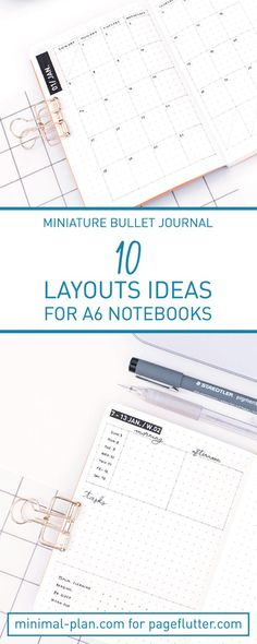 bullet journal layouts for your post portable paper planning ever! Bullet Journal 10, Bullet Journal Printables, Bullet Journal How To Start A, Bullet Journal Spread, Bullet Journal Layout, Bullet Journal Inspiration, Journal Ideas, Journal Art, Weekly Log