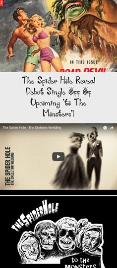 Phoenix, AZ based, Dark Alternative Rock Band THE SPIDER HOLE has announced the launch of a Kickstarter Campaign to help support their upcoming LP and associated graphic novel, To The Monsters. The unique project… Oingo Boingo, Album Stream, Alternative Rock Bands, Great Fear, Original Song, Lp, Phoenix, Monsters, Spider