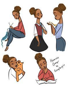 feelingfairyish: Little Hermione doing Hermione things