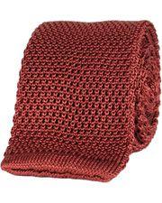 Oscar Jacobson knitted tie tegel