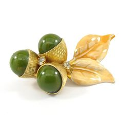 Bakelite Spring Brooch by candyshopvintage on Etsy, $36.00