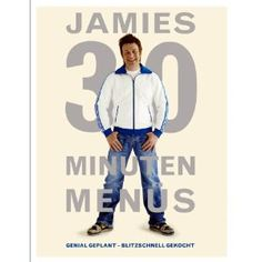 Jamie Oliver's 30 Minute Recipes: Chicken Skewers, Amazing Satay Sauce, Fiery Noodle Salad, Fruit & Mint Sugar Piri Piri, Chicken Satay, Chicken Skewers, Jamie Oliver 30 Minute Meals, Jamie Olivier, Jamie's 30 Minute Meals, Jamie Oliver Chicken, Rogan Josh, Books