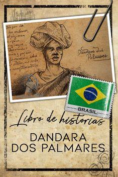 Dandara fue una importante guerrera negra de Brasil. Ella no encajaba en los patrones de género que aún hoy se imponen a las mujeres y por eso su figura -y su historia- son prácticamente un misterio. #brasil #dibujos #historias #viajes #bitácora