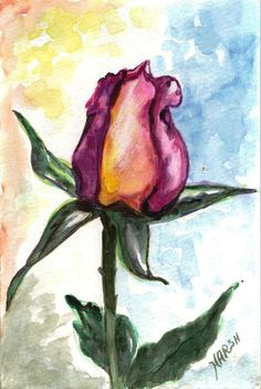 Flowers Painting - Birth Of A Life by Harsh Malik