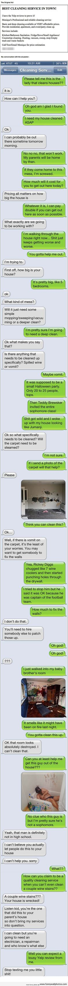 Funny responses to Craigslist ads...