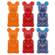 Fab.com | Gummy Bear 6 Pack Flavors Mix by Giant Gummy Bears - $8.50