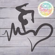 Download FREE SVG FILE! Gymnastics makes me jump for joy SVG file ...