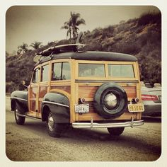 California ride (Woodie on the I5 freeway in Encinitas, California)