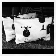 Little MAgne bag  Moose  Handmade bag for your by MayFlyEtsyShop, €12.00