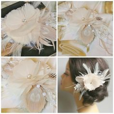 Bridal Fascinator Hair Comb Wedding Hair