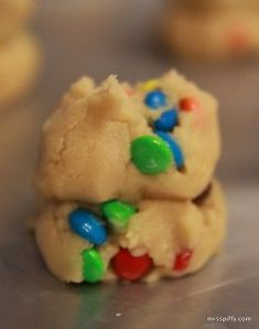 Best M & M Cookies! Andrew and I made these tonight but used pecans and coconut instead of m&ms. Bomb.com!
