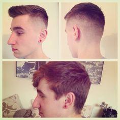 Men's hair , barber