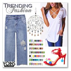 """""""Yoins 5"""" by abecic ❤ liked on Polyvore featuring yoins, yoinscollection and loveyoins"""