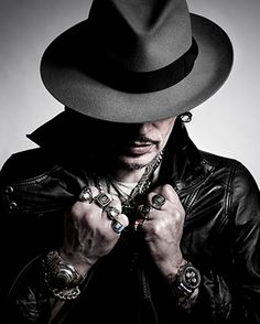 Adam Ant by Andy Gotts---Have you ever noticed how he looks like Johnny Depp??