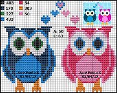 Sandrinha Ponto Cruz: Owls chart