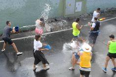 La Traída del Agua de Lomo Magullo convoca a menos fieles que otros veranos