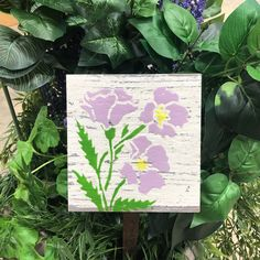 Custom made personalized Garden Decor Tile. Personalized Vintage Dragonfly Garden Tile is Made in Canada and comes with a Lifetime Warranty.