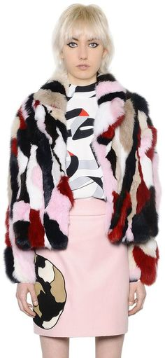 Patchwork Rabbit Fur Jacket https://api.shopstyle.com/action/apiVisitRetailer?id=522714253&pid=uid8721-33958689-52