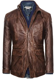 H.E.BY MANGO - Leather - Leather field jacket - £239 - Sadly nowhere near as good as it looks on the website, leather is much paler, and is quite thin