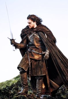 starting up game of thrones and i'm already in love with Jon Snow