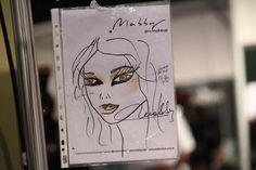 """Boceto, """"Melodías de Seducción"""", en la 38º edición del BAAM #buenosaires #maquillaje"""