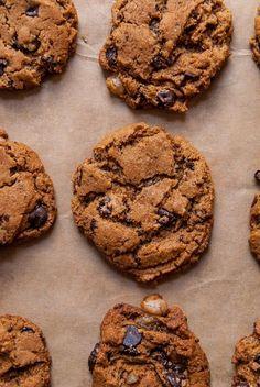 Ginger Dark Chocolate Chip Cookies